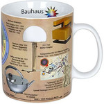 Könitz Mugs of Knowledge Bauhaus (English)