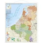 Stiefel Mappa Regionale Benelux mit Postleitzahlen (97x137)