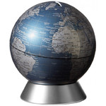 emform Globe Spardose Orion Blue 14cm