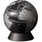 emform Globe Spardose Orion Matt Black 14cm