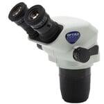 Optika Cabazal estereo microsopio SZO-B, bino, 6.7x-45x, w.d. 110 mm, Ø 23 mm, click stop
