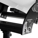 Montaje sencillo con rieles prismáticos de dos partes
