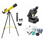National Geographic Telescope and Microscope Set for Advanced Users