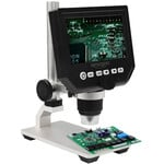 Omegon Microscopio DigiStar de , 1x-600x, LCD de 4,3''
