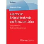 Springer Libro Allgemeine Relativitätstheorie und Schwarze Löcher