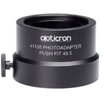 Opticron Anello adattatore Photoadapter Push fit 49.5 for HDF T zoom eyepiece