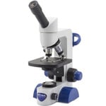 Optika Microscopio B-61, mono, 40-400x, LED, Akku