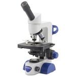 Optika Microscopio B-62, mono, 40-400x, LED, Akku, Kreuztisch
