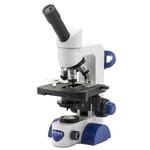 Optika Microscope B-65, mono, 40-1000x, LED, Akku, Kreuztisch