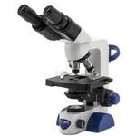 Optika Microscopio B-66, bino, 40-400x, LED, Akku, Kreuztisch