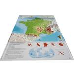 Carte magnétique 3Dmap La France Physique