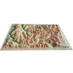 3Dmap 3D Karte La Vanoise