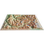 3Dmap Regional-Karte La Vanoise