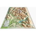 3Dmap Regional-Karte Le Massif des Ecrins