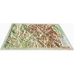 Carte magnétique 3Dmap Les Hautes Alpes