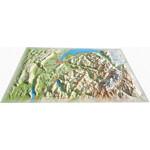 3Dmap 3D Karte La Haute Savoie