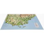 Carte magnétique 3Dmap Le Var