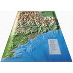 3Dmap Regional-Karte Les Alpes Maritimes