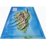 3Dmap 3D Karte La Corse