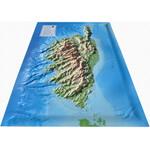 Carte régionale 3Dmap La Corse
