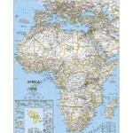 National Geographic Kontinent-Karte Afrika, politisch groß