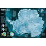 National Geographic Carte de continent Antarctique
