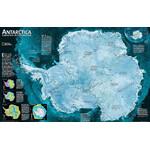 National Geographic Harta regionala Antarctica