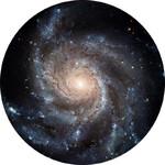 Redmark Dia für Bresser- und NG-Planetarium Feuerrad-Galaxie