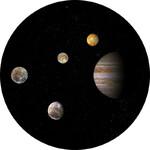 Redmark Dia für Bresser- und NG-Planetarium Jupiter-System