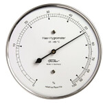 Fischer Weather station Hair-Hygrometer Stainless Steel