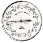 Fischer Weerstation Barometer Stainless Steel