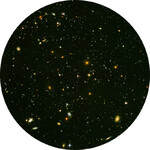 Redmark Diapositive pour les panétariums Bresser et NG - champ ultra-profond de Hubble