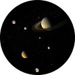 Redmark Diapositiva per planetari Bresser e NG con il Sistema di Saturno