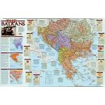 National Geographic Regional map the Balkans
