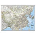 National Geographic Mapa Chin