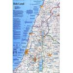 National Geographic Mapa regionalna Ziemia Święta