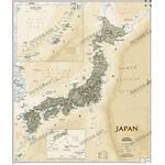 Carte géographique National Geographic Japon