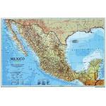 Carte géographique National Geographic Mexique