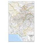 National Geographic Landkarte Afghanistan und Pakistan