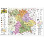 Stiefel Bayern politisch mit Postleitzahlen