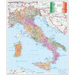 Stiefel Landkarte Italien Postleitzahlenkarte (Italienisch)