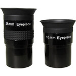 """Oculaire iOptron PL 25mm & 10mm 1,25"""""""