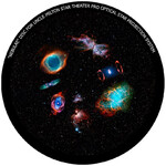 Omegon Disc for the Star Theatre Pro with Galactic Nebulae motif