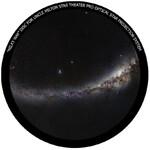 Omegon Wkładka do planetarium domowego Star Theater Pro z obrazem Drogi Mlecznej.