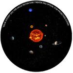 Omegon Wkładka do planetarium domowego Star Theater Pro z Układem Słonecznym