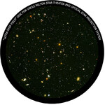 Omegon Disc for the Star Theatre Pro with Ultra Deep Field motif