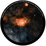 Omegon Disc for the Star Theatre Pro with Lagoon Nebula motif