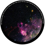 Omegon Disc for the Star Theatre Pro with Tarantula Nebula motif