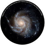 Omegon Disc for the Star Theatre Pro with Messier 101 motif