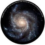 Omegon Wkładka do planetarium domowego Star Theater Pro z obrazem galaktyki Ogień